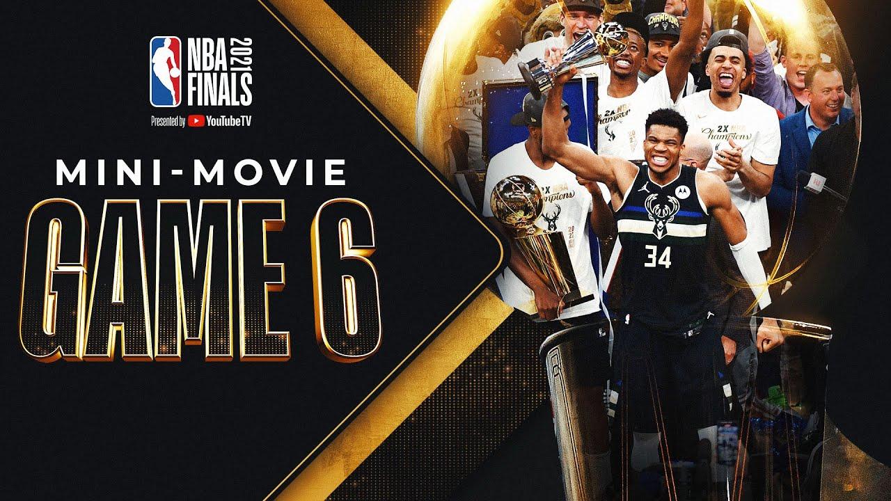 Download Bucks In 6!! NBA Finals Game 6 MINI-MOVIE 🏆⭐