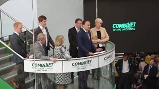 видео Новый завод Combilift в Ирландии