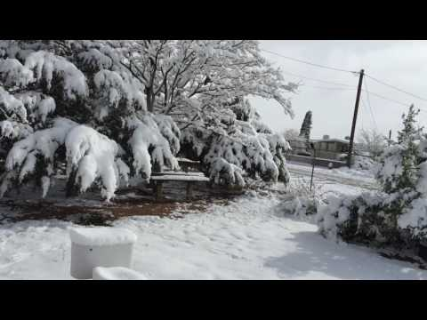 El Paso Texas December 2015, Christmas Vacation, El Paso Snow 2015