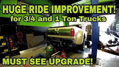 Make your 1-ton truck ride like a 1/2 Ton!  Sulastic Springs!