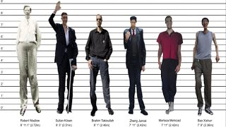 tallest man ever by country