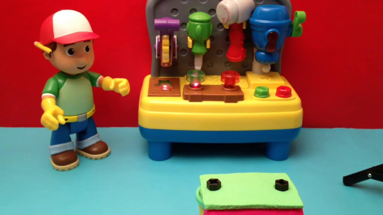 Disney Handy Manny Play Doh Construction For Kids Tools