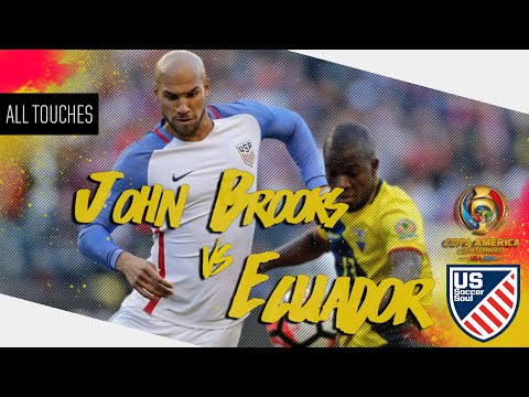 John Brooks vs Ecuador ● All Touches ● US Soccer Soul | HD
