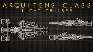 Star Wars: Arquitens Class Light Cruiser - Ship Breakdown