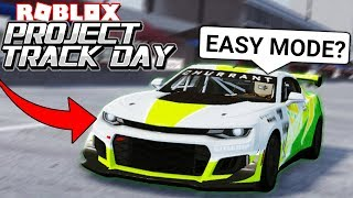 The Hardest Roblox Racing Game Just Got Easier...? (Project Trackday Roblox)