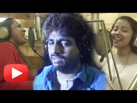Vaishali Samant, Adarsh Shinde, Anandi Joshi Records Songs For Zari - New Marathi Movie