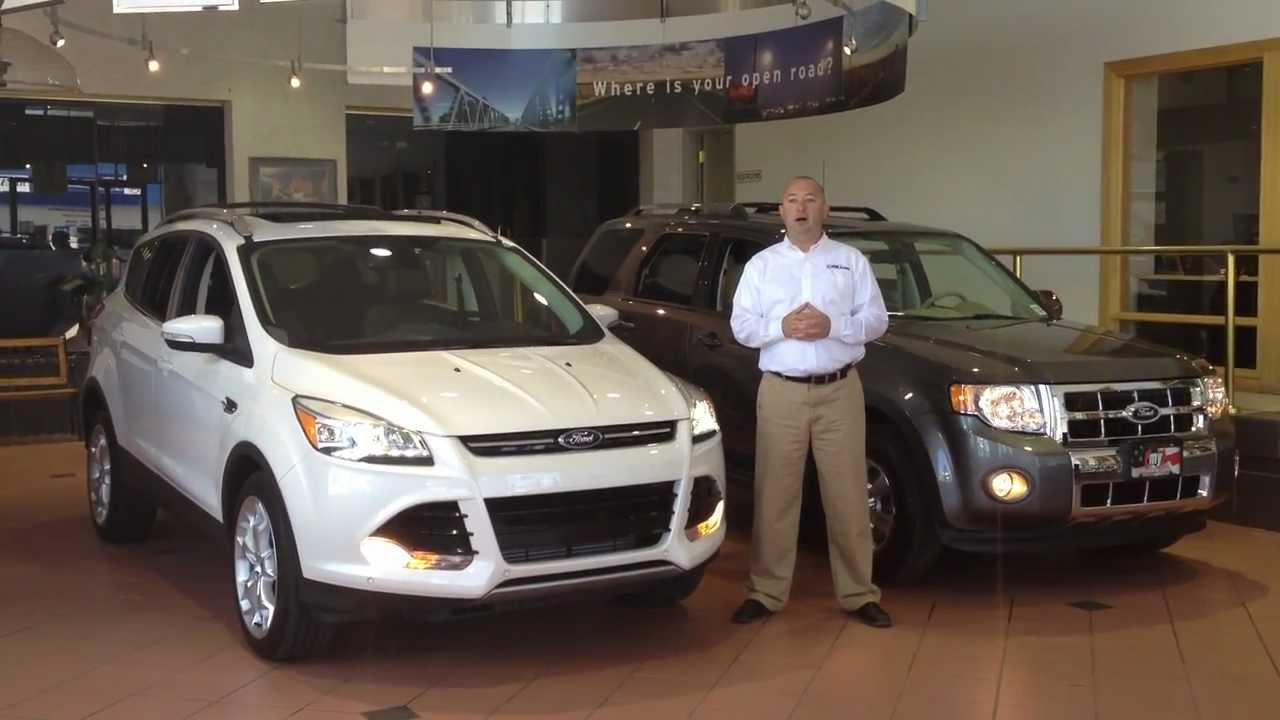 2013 ford escape vs 2012 ford escape in colorado springs youtube. Black Bedroom Furniture Sets. Home Design Ideas