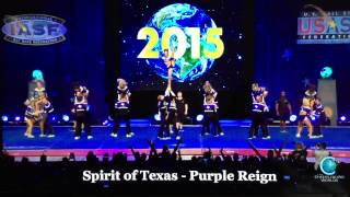 Spirit of Texas Purple Reign Worlds Trials 2015