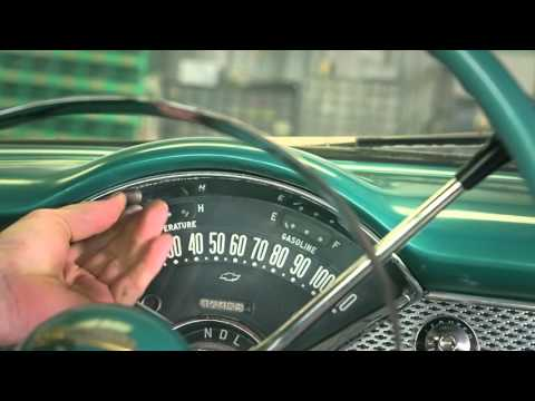 How to Remove the Instrument Cluster from a 1955-1956 Chevy | Danchuk USA