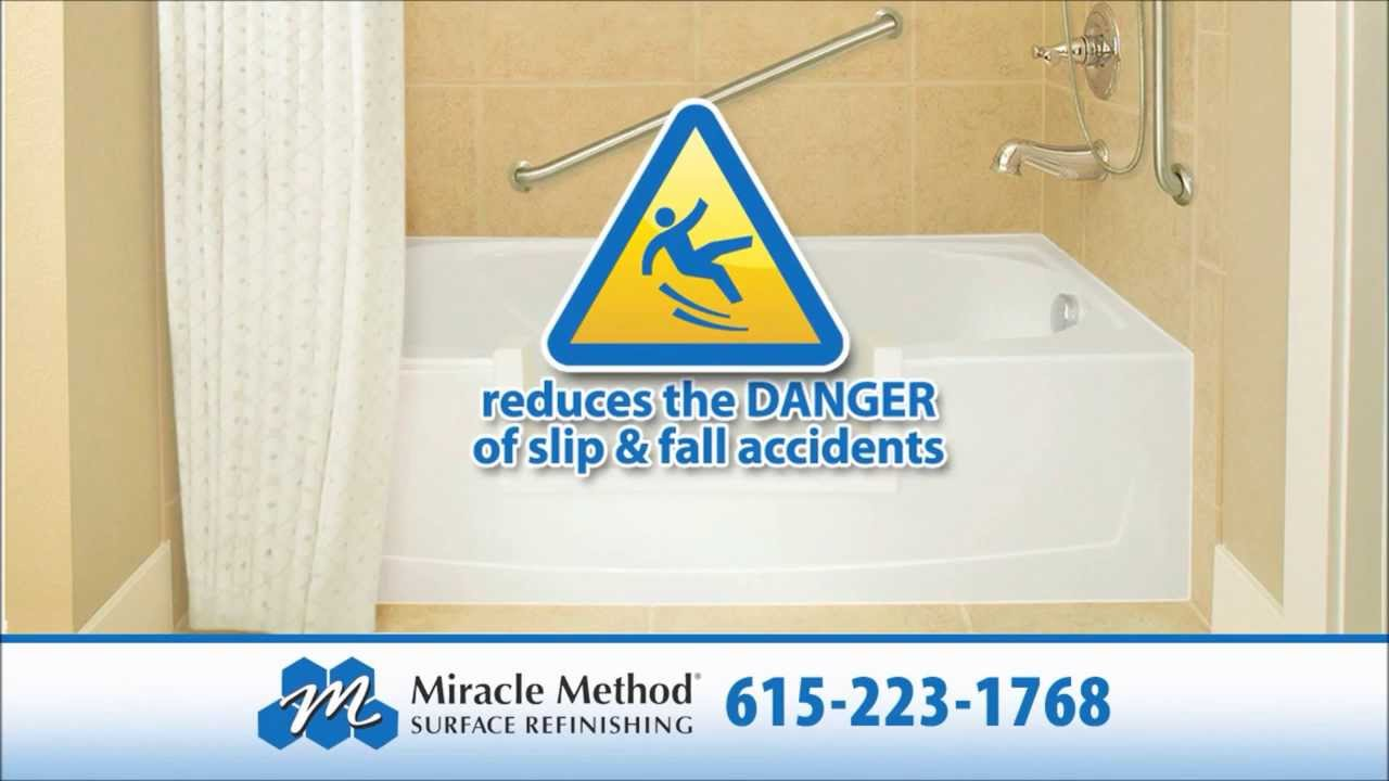 Beautiful MiracleMethod Safe Step Bathtub Shower Conversion Nashville I Easy Step    YouTube