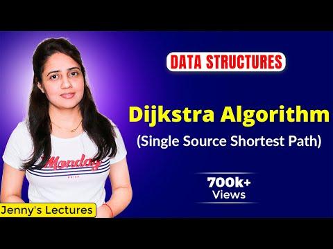 6.13 Dijkstra Algorithm- single source shortest path| With example | Greedy Method