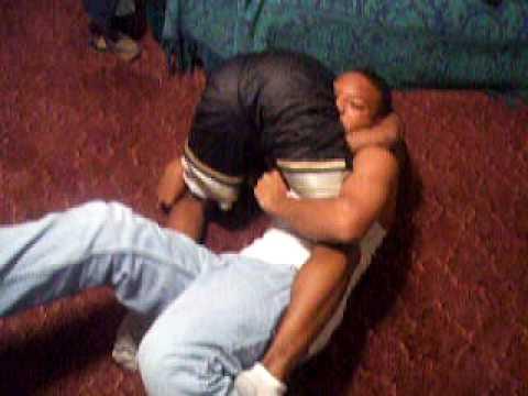 Living room wrestling mature women the