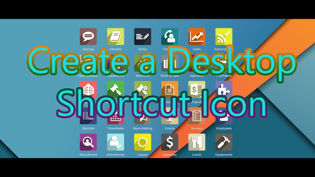 How To Create Shortcut Desktop Icon 2017 Istiyak Amin