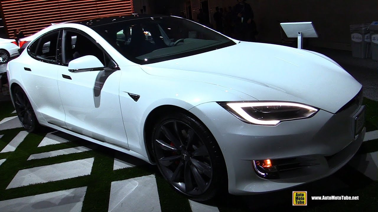 2018 Tesla Model S P100d Exterior And Interior Walkaround 2017 La Auto Show