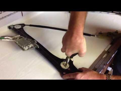 How to repair Audi TT MK 2 electric window regulator