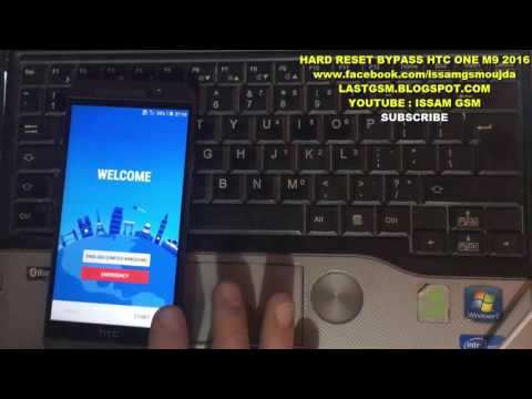 HTC One M9 Hard Reset & Bypass Google Account Secret Method