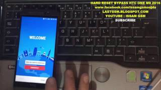 HTC One M9 Hard Reset & Bypass Google Account Secret Method