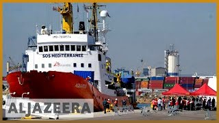 Refugee ship Aquarius to stop rescue mission in the Mediterranean l Al Jazeera English