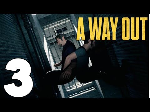 WAIFU PRISON | A Way Out Gameplay Let's Play #3 With Northernlion