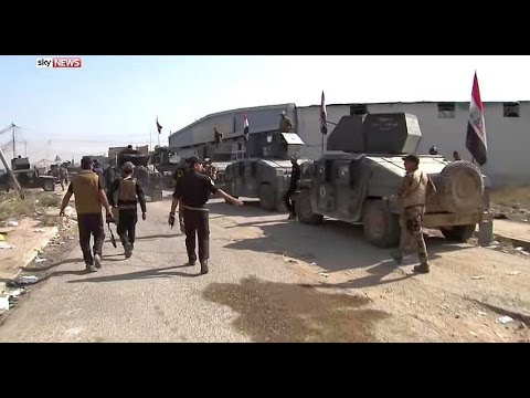 Iraq Battle for Mosul aftermath of Bartella liberated from ISIS East of Mosul