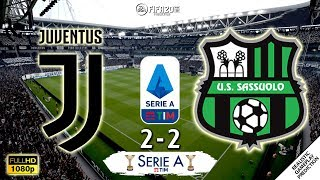 Juventus Vs Sassuolo 2 2 | All Goals & Highlights | Serie A 2019/20 | 01/12/2019 | Fifa 20