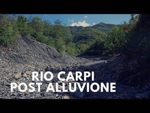Rio Carpi post alluvione, Montoggio