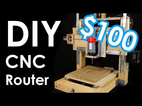 How I built myself a CNC router - from WOOD.