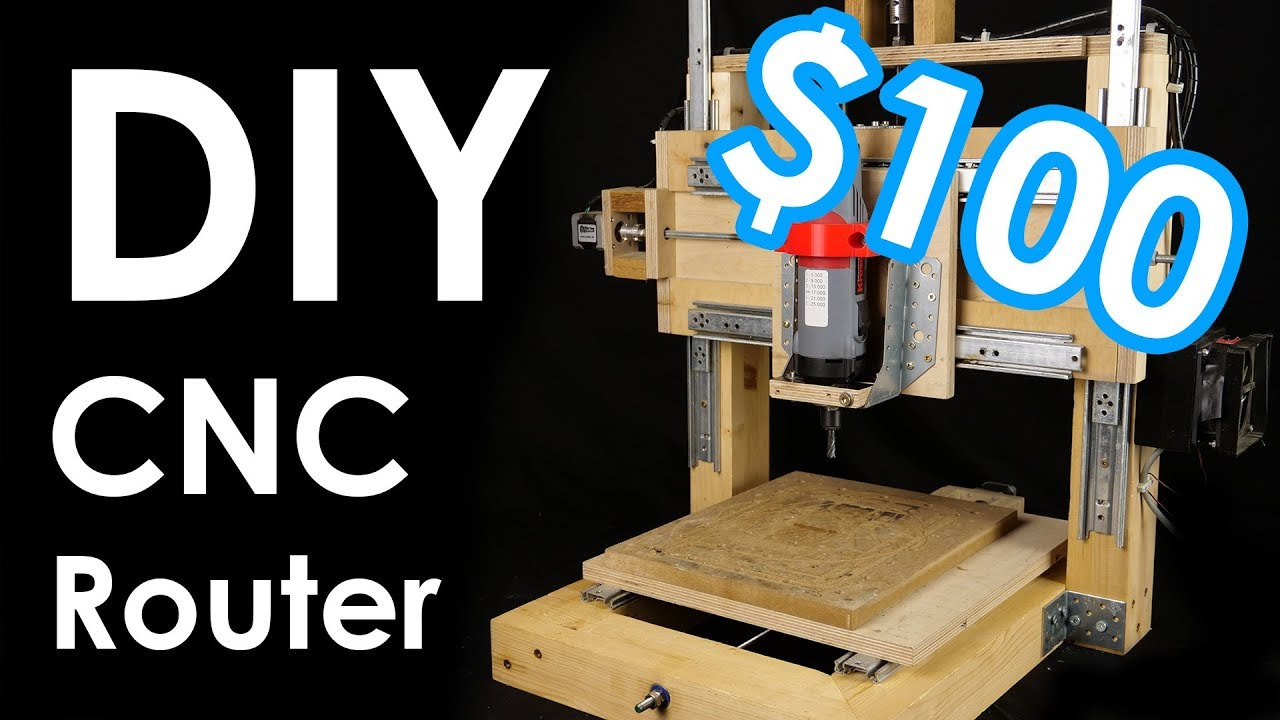 How I built myself a CNC router - from WOOD