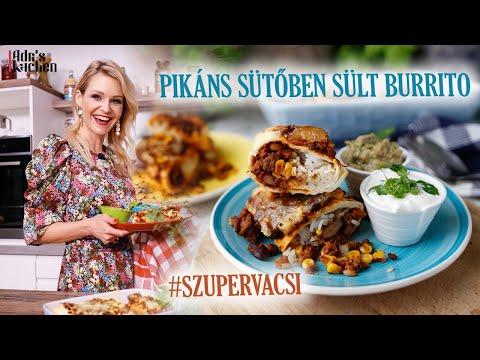 Pikáns Sütőben Sült Burrito