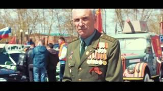 70 лет победы, Автопробег Сибирь Бурятия Улан-Удэ 2015