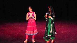 Jaie and Nanditha Singing at Roshni 2012 - San Jose State University