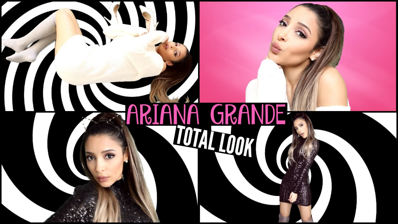 Get The Total Look Ariana Grande Problem Youtube