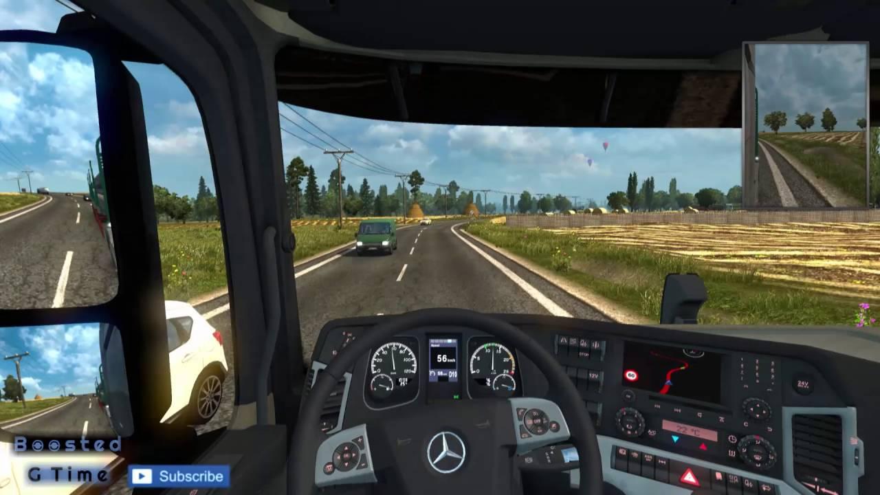 ETS2 NEW Traffic density MOD [1 24]