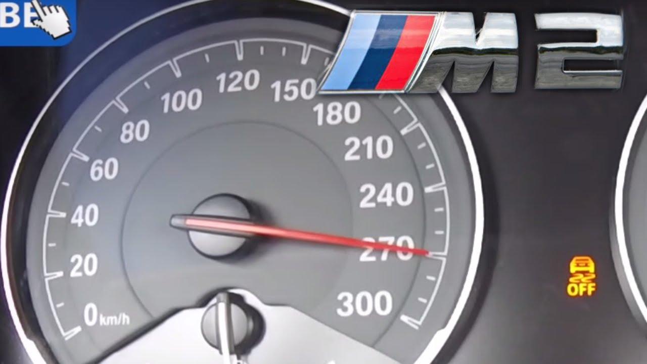 Bmw M2 Acceleration Top Speed On Autobahn 0 270 Km H M Performance