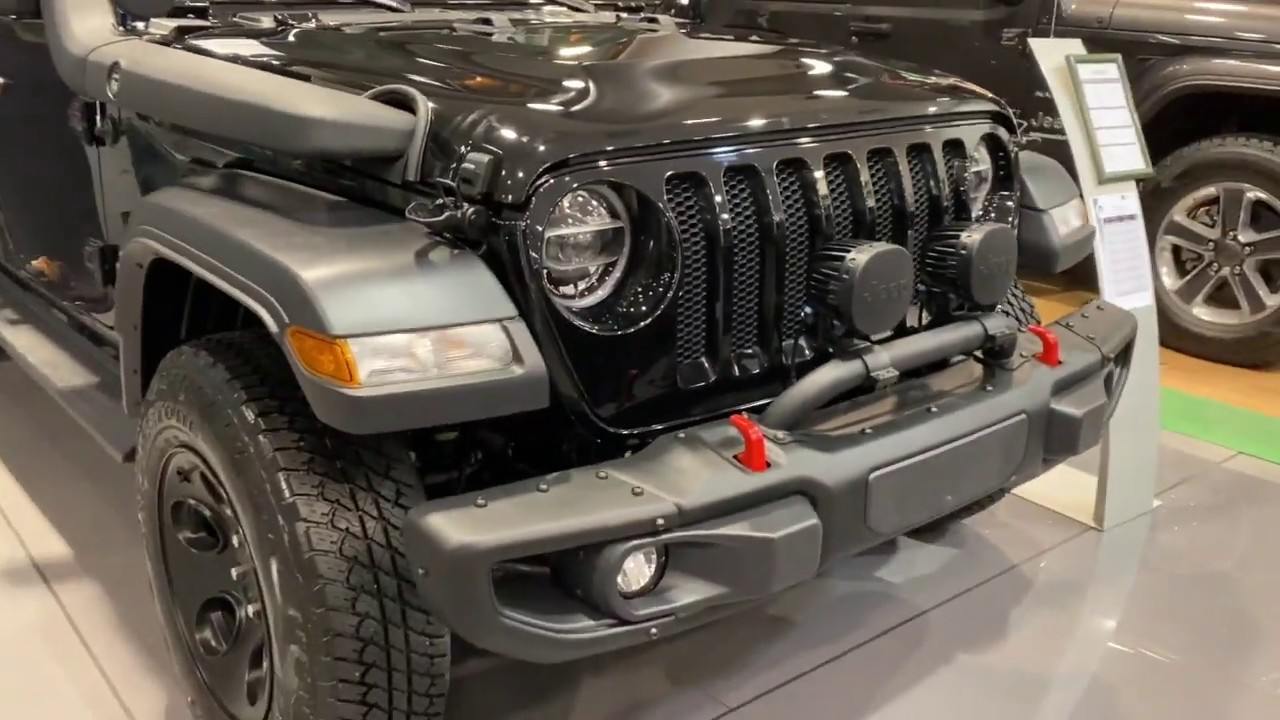 2020 Jeep Wrangler Sport جيب رانجلر Youtube