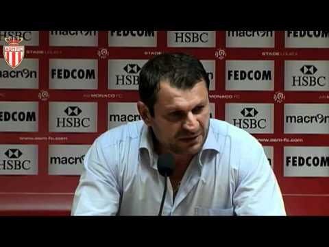La conf de presse du coach après Lyon