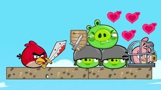 Angry Birds Heroic Rescue - KICK AND FORCE OUT ALL THE PIGGIES TO RESCUE STELLA!