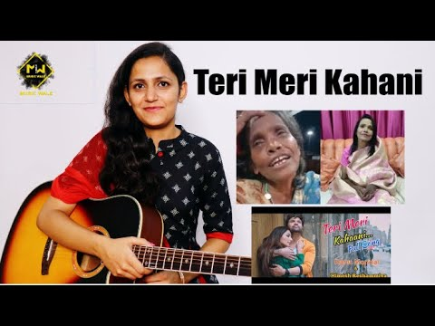 Teri Meri Kahani : Full Song Easy Guitar Tutorial|Trailer| Himesh Reshammiya| Ranu Mondal Music Wale thumbnail