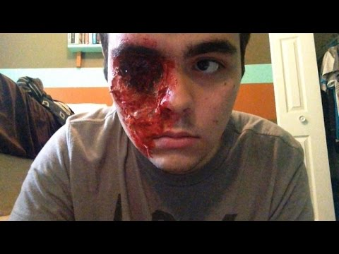 SFX MAKEUP TUTORIAL-- Missing Eye - YouTube