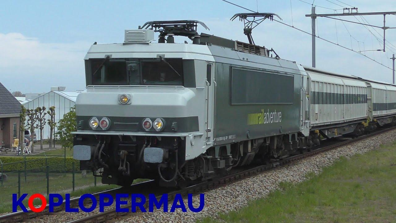 RailAdventure 9903 komt door station Hillegom!
