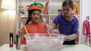 فوزي موزي وتوتي | DIY مع المندلينا | طابات الضغط الكبيرة | Giant Stress Balls