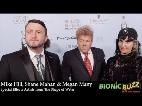Mike Hill, Shane Mahan & Megan Many Interview at Make-Up Artists & Hair Stylists Guild Awards