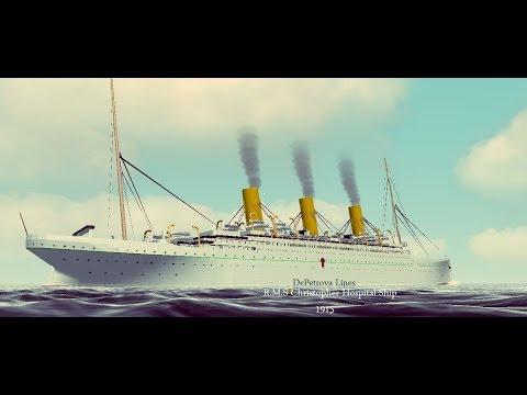 Virtual sailor RMS Christopher Ocean Liner Hospital Ship