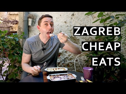 Zagreb Cheap Eats, Croatian Food in Zagreb, Croatia
