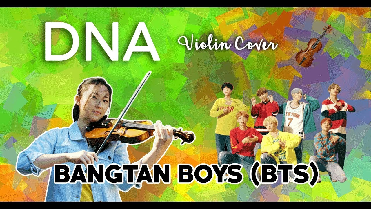 DNA – BTS (with violin tutorial) – Sharlee Music