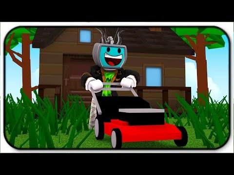Time To Mow Some Lawns! It Actually Exists! Roblox Lawn Mowing Simulator