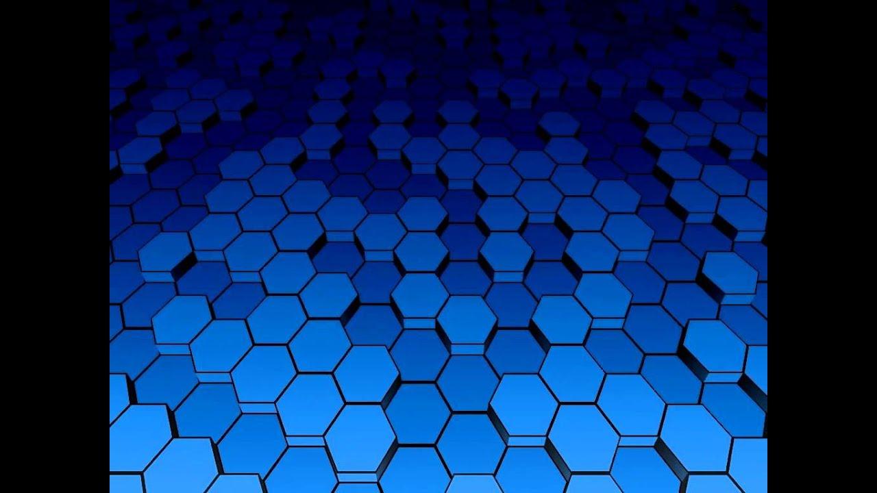 Modern 3d Wallpaper Texture 3d Hex Grid Shader Test Youtube