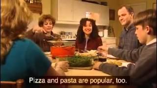Food in Britain 3 8 ESL video(В этом видео описывается еда, которую предпочитают в Британии. Как пример описывается семью Робинсонов...., 2013-12-08T04:43:05.000Z)