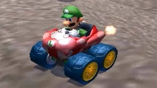 Mario Kart 7 - 50cc Flower Cup - 3 Star Rank