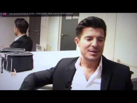 Vincent Niclo : émission BACKSTAGE sur TELE TOULOUSE (28/02/2015)